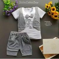 Setelan Rompi Anak Import Baju Rompi Anak Bayi Balita Pakaian AnakAnak