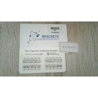 Bracket Amplop/Behel/Bracket Fancy Mini Edgewise 0.022 3-Hook