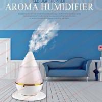 Semprotan Air Pelembab Udara Ultrasonik Aroma Ruangan Lampu Malam Led