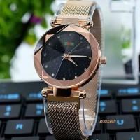 Jam Tangan Wanita Gucci Magnet Berlian Premium / Jam Gucci Magnet