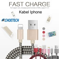 CHOETECH IP006 KABEL DATA LIGHTNING CABLE FOR APPLE IPHONE IPAD IPOD