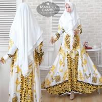 Baju Muslim Gamis Syari Pesta Wanita Maxmara Lux Cantik Terbaru