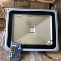 lampu sorot outdoor RGB 50 watt