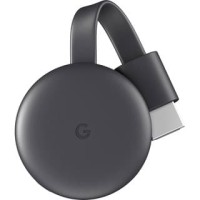 Google Chromecast 3 HDMI Streaming Media Player - Black