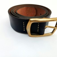Leather Belt || Ikat pinggang Kulit - Cokelat Muda