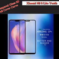 SALE!!! Tempered Glass 5D Xiaomi Mi8 Lite Youth F