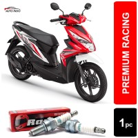 Busi Motor Honda Beat BRISK Premium ZS AR12ZS