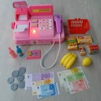 Cash Register Mini / Kasir-Kasiran Mainan Anak Murah