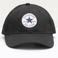 Topi Baseball Snapback Converse Baseball Cap Black ORIGINAL Unisex