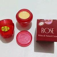 Cream Rose White & Natural Krim Wajah - MERAH