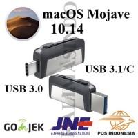 USB Flashdisk 3.0 OTG USB C 16GB Installer macOS Mojave 10.14 for Mac