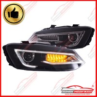 HEAD LAMP - VW POLO 2011-2017 - PROJECTOR - SEQUENTIAL - LIGHT BAR