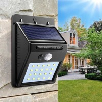 Lampu tenaga surya/taman/Pagar/Tembok/solar cell/panel 20 LED Outdoor
