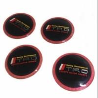 Emblem Dop Velg TRD for all Toyota