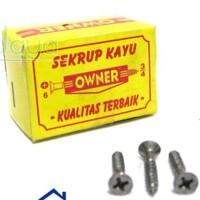 "Sekrup Kayu 3/4"" ( Owner )"