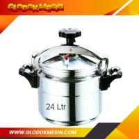 Panci Presto Komersial GETRA C32 / Pelunak Daging Kapasitas 24 Liter