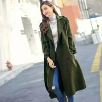 NEW Autumn Winter Coat Women Army
