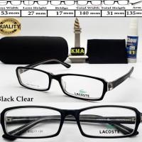frame LACOSTE STYLISH kacamata frame minus lacoste trendy premium 7