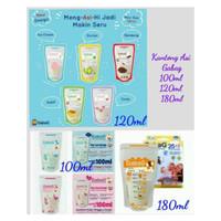 Gabag Kantong ASI BPA Free 100ml - 120ml - 180ml - Breastmilk Storage