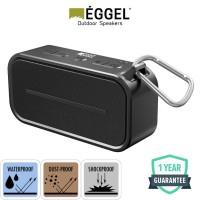 Eggel Active Waterproof Portable Bluetooth Speaker - Black