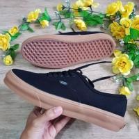 Sepatu vans Authentic mono black gum