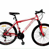 Sepeda gunung model frame alloy