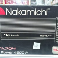 Nakamichi power NGTA 704 4500W
