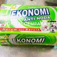 Sabun Cream Ekonomi Anti Noda LEMON HIJAU BOX EL 3K | Sabun Colek EL3K