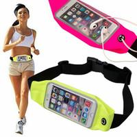 Tas Jogging HP Belt Waterproof pinggang olahraga anti air hujan waist