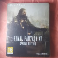 FINAL FANTASY XV steel case dan game | steel case | R2 | bekas