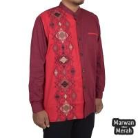Baju Kemeja Koko Marwan (2 Pilihan Warna) - rubk11