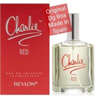Charlie Red 100 ml ORIGINAL perfume parfum Edt eau de toilette Revlon