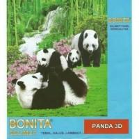 Selimut Bonita Size 160 x 200 Motif Panda