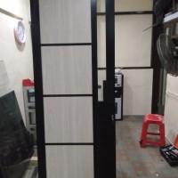 pintu kusen aluminium 80x2m