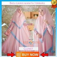Baju Gamis Wanita Terbaru Bonus Khimar Long Dress Busana Wanita Murah