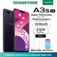transaksi online jual handphone tanpa resiko OPPO A3S 3/32GB