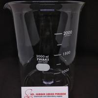 Beaker Glass, 2000 ml, Iwaki