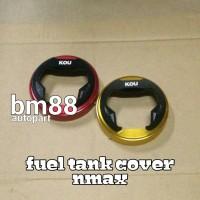 Tutup Tangki Bensin CNC NMAX 2 Tone - KOU Fuel Tank Cover