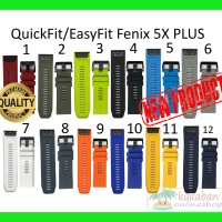 FENIX 5X PLUS Strap Band Garmin QuickFit 26mm