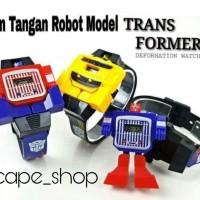 Jam Tangan Anak Robot Transformers - Jam Robot Model Transformers