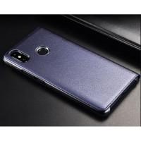 Xiaomi Mi Max 3 Mimax 3 Smart Auto Lock Leather Flip Case Casing Cover