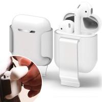 Proelite Earphone Case untuk Apple Udara Pods Sabuk Klip Sarung Headph