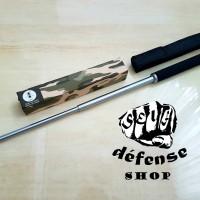 "Baton Stick ANT Solid Steel / Expandable YRG Baton ""Self Defense Shop"""