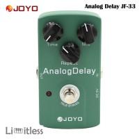 Efek Gitar Joyo Analog Delay JF-33 JF33 JF 33 Original