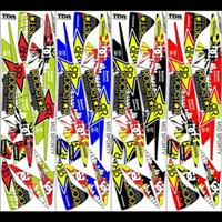 Variasi Sticker striping yamaha mio sproty terbaru