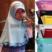 Jilbab Anak Praktis Raniah Murah Banyak Pilihan Warna / Kerudung Anak