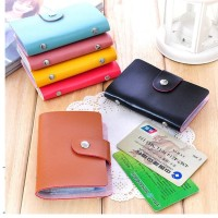 Dompet Kartu Card Holder Organizer Wallet Praktis 24 Kartu Nama & ATM