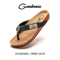 SANDAL CASUAL GOODNESS FREED OLIVE