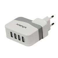Original Vivan 4 USB Power Charger XC4s