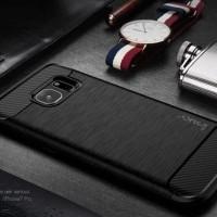 Case Ipaky Carbon Samsung Galaxy S7 Edge Soft Series
